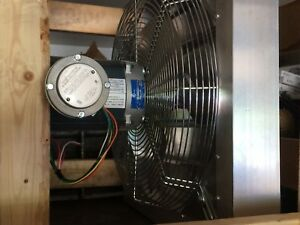 Canaram Explosion Proof Exhaust Fan 24 In With Damper G6551851 New