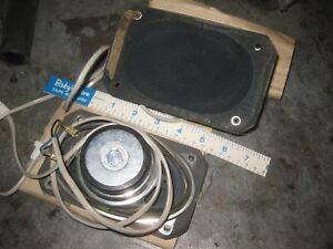 Vintage Blaupunkt Auto Speakers 3x5 Bmw Cs Bavaria 2002 Porsche Mercedes