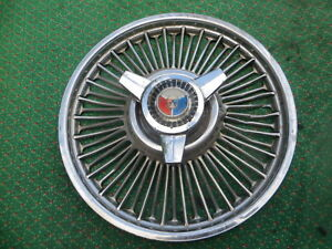 1964 1965 66 1967 Galaxie Galaxy Mustang Fairlane F100 14 Wire Hubcap