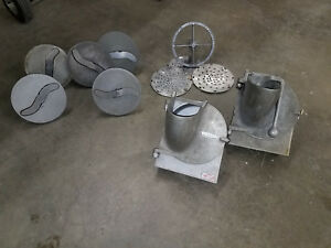 lot Hobart Pelican Parts W Shredder Chopper Attachments Misc Free Shipping