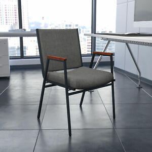 Heavy Duty Reception guest Stack Chair With Arms
