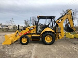 2015 Caterpillar 420f Backhoe Loader 4x4 Aux Hydraulics