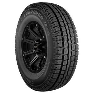 4 p265 70r17 Cooper Discoverer M s 115s B 4 Ply Bsw Tires
