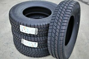 4 New Continental Conticrosscontact Winter Lt215 85r16 Load 10 Ply Winter Tires