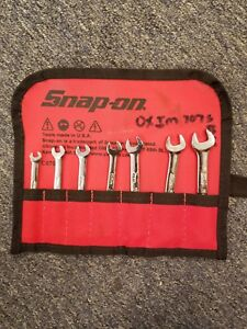 Snap On C0700 Ignition Wrench Set Sae