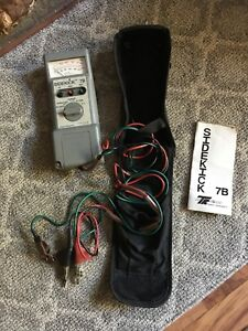 Tempo Research Sidekick 7b Cable Stress Tester Meter W Instructions