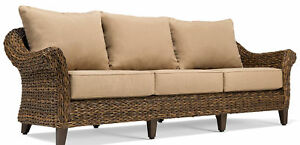 Blue Oak Outdoor Bahamas Patio Sofa With Cushion