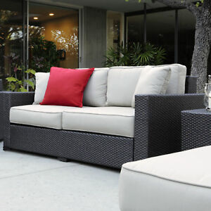 Serta At Home Laguna Outdoor Sofa With Cushions