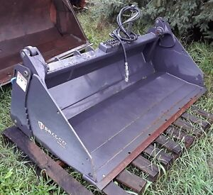 Genuine 2014 Bradco Mp72 Paladin 108072 72 4 In 1 Skid Steer Bucket