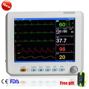 Ce 8 Color Screen Icu Ccu Medical Patient Monitor Multi parameter Monitoring A