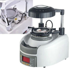 Dental Vacuum Forming Former Thermoforming Machine 11cm Lifting Tray 8 Button A