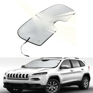 Car Uv Reflective Windshield Sun Visor Shade For Jeep Cherokee Suv 2014 2019 b