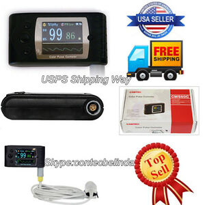 Hand held Finger Blood Oxygen Spo2 Pr Monitor blood Oxygen Tft Lcd Software Fda