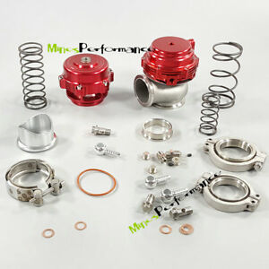 44mm Turbo Mvr44 Water Cold Wastegate 44mm V band Red Q50 50mm Blow Off Valve