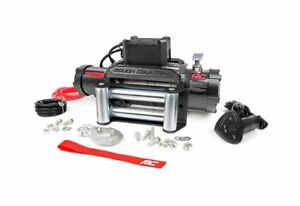 Rough Country 12000 Lb Electric Winch Recovery System W Steel Cable Pro12000