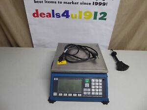 Spx Gse Precision Digital Counting Scale Model 675 60 Lb Very Good Pre Owned 2