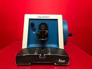 Reichert jung 820 Histocut Microtome Rotary