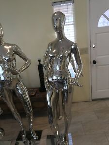 Mannequin Female Full Body X3 Torso Stand X2