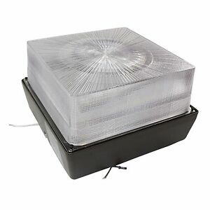 Stonco Lyte Cube Square Canopy 70w High Pressure Sodium Ceiling Light Fixture