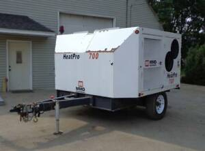 Diesel Fired Indirect Towable Construction Heater Mmd Equipment Heat Pro 700