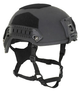 OPS-CORE FAST Helmet size ML Black and Tan Cover Bag and wilcox included