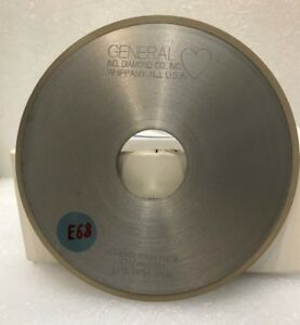 Diamond Grinding Wheel gen ind diamond usa 1a1 5 X 3 16 X 1 1 4 X 1 8 Gd600
