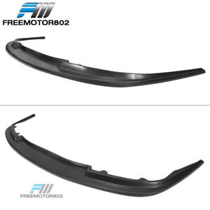 Fits 94 95 Honda Accord Mda Style Front Lip Spoiler Splitter Black Pu