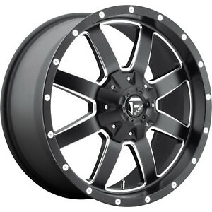 20x9 Black Maverick 6x135 6x5 5 14 Rims Open Country Mt 35 Tires