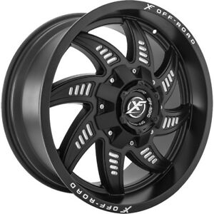 20x9 Black Xf Offroad Xf 206 6x135 6x5 5 20 Rims Open Country Mt 35 Tires