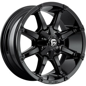 20x9 Gloss Black Fuel Coupler 6x135 6x5 5 1 Rims Open Country Mt 35 Tires