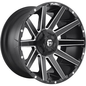 20x9 Matte Black Milled Contra 6x135 6x5 5 1 Wheels Open Country Mt 35 Tires