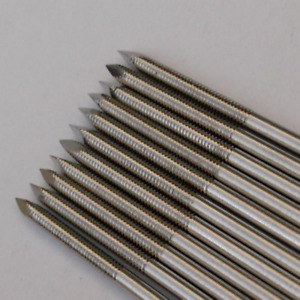 250mm 10pcs Partial Threaded Kirschner Wires Veterinary Orthopedics Instrument