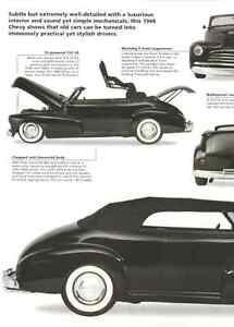 1948 Chevy Fleetmaster Convertible Custom Hot Rod Article Must See