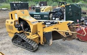 Genuine 2016 Vermeer Sc30tx Walk Behind Tracked Stump Grinder 291 Hours