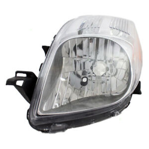 Fits Toyota Yaris 07 08 Hatchback Drivers Headlamp Headlight W Housing Assembly