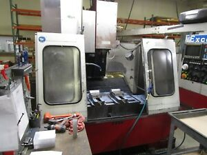 Excel Vertical Machining Center 810 Fanuc O Cnc 32 X 24 X 28 1995 9 500