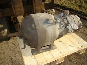 Vintage Generator General Electric A B Type Alternating Current 7 1 4 Kw