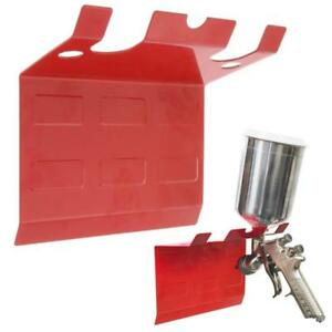 Tcp Global Brand Magnetic Paint Spray Gun Holder Stand Hold Up To 5 Gravity Si