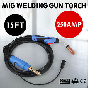 15 Ft M25 169598 250 Amp Mig Gun Welding Torch Stinger Welder Parts Mill