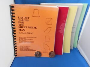 5 Sheet Metal Worker Training Manuals books Investment This Ships Insured Bypo