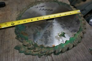 12 Dinosaw Saw Blade For Straight Line Rip Saw 1 1 2 Bore 40 T