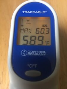 Fisher Scientific Traceable Infrared Ir Thermometer Gun Laser Laboratory Temp