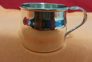 Silver Artistry By Community Silverplate Baby Child Cup