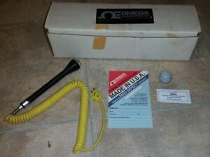 Omega Engineering 88001 Round Face Surface Probe Type K Temperature Measurement
