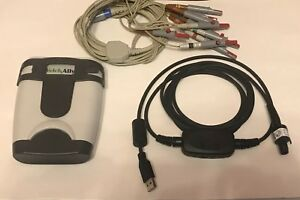 Welch Allyn Cardio Perfect Se pro 600 Ecg Recorder With Usb Leads Electr