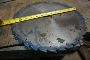 14 Saw Blade For Straight Line Rip Saw 1 1 2 Bore 36 T