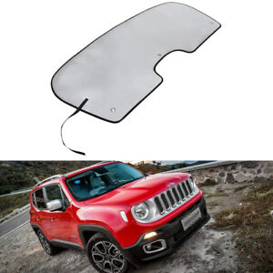 Reflective Window Windshield Sun Shade Sun Visor For 2015 2018 Jeep Renegade b