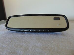 2008 2012 Nissan Maxima Rear View Auto Dimming Compass Mirror