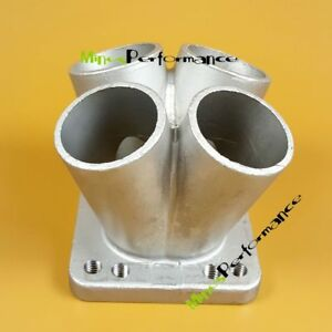 Cast Stainless Steel 4 1 Turbo Header Manifold Merge Collector To T3 T4 Flange