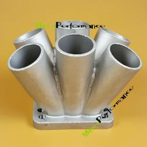 Cast Stainless Steel 6 1 Turbo Header Manifold Merge Collector To T3 T4 Flange